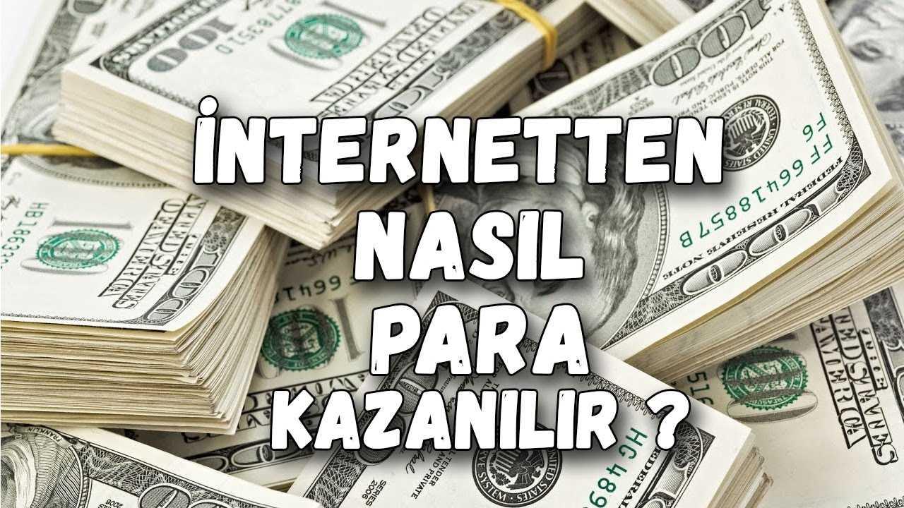 İNTERNET SİTESİ AÇARAK PARA KAZANMA