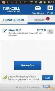 Turkcell Superonline Fatura Ödeme