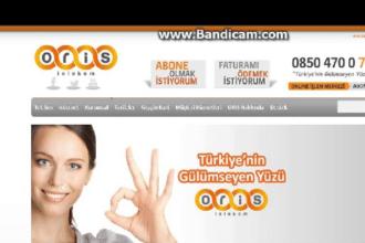 Oris Telekom Fatura Ödeme