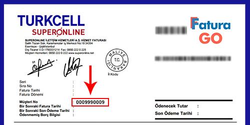 Süperonline İnternet Faturası Ödeme