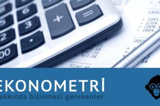 Ekonometri ve Üniversitede Ekonometri Bölümü
