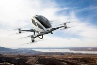 DÜNYA DA BÜYÜK GELİŞME DRONE TAKSİ